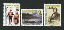 Bolivia 1198-1200, MNH.2002, Alcide dOrbigny 3v. x27695