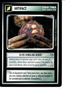 Star Trek Ccg DS9 Rare Carte Alien Paris Appareil