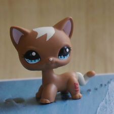 "LPS #1170 COLLECTION Action Figure Brown cat kitty TOY 2"" LITTLEST PET SHOP"