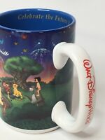 "Walt Disney World 2000 ""Celebrate the Future Hand in Hand"" 16 oz Coffee Mug Cup"