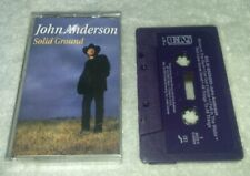 Solid Ground by John Anderson Cassette Tape