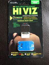 Hiviz LiteWave Interchangeable Color Front Handgun Sight Glock Gl2014