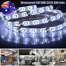 12V Bright RGB Waterproof Flexible LED Strip Lights 5M 300 LEDs 3528 SMD Light