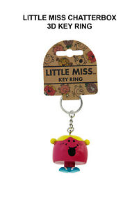 Little Miss Chatterbox 3D Key Ring