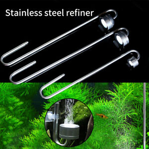 Stainless Steel CO2 Diffuser Accessories Fish Tank Carbon Dioxide Home Aquarium
