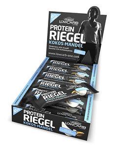 33,17€/kg Layenberger LowCarb.one Protein Riegel 45% Eiweiß (18x 35g Box)