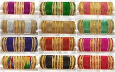 India tradition Ethnic Royal 48pcs bangle Fashion Jewelry 2.6 2.8,2.10,2.12,2.14