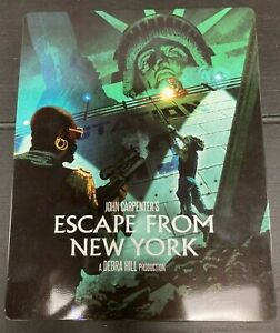 Escape from New York - Bluray Region A - STEELBOOK Limited Edition - VGC