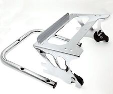 Detachable 2Up Tour-Pak Luggage Rack For 97-08 Harley Electra Glide Standard FLH