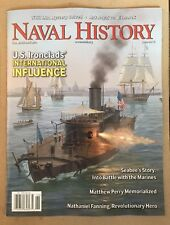 Naval History US Ironclads International Influence June 2015 FREE SHIPPING!