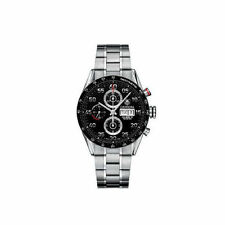 TAG Heuer Stainless Steel Band Men's Round Wristwatches