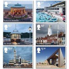 UK Seaside Architecture Stamp Set 2014