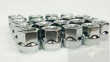 "20 OPEN END CHROME BULGE ACORN LUG NUTS 9/16 | 3/4"" HEX | DODGE DURANGO RAM 1500"