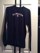 Majestic New York Rangers Alternate Vintage Long Sleeve T Shirt Exc Blue L
