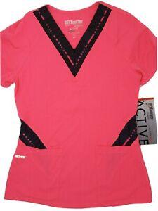 Grey's Anatomy By Barco Active Spandex Scrub Shirt Women's