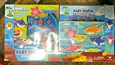 Pink Frog Baby Shark Mega Bundle with Puzzles and Games for Toddlers Or Kids New
