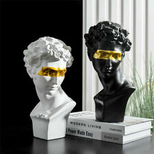 Home Decoration Gold eye David Resin Statue  Abstract Sculpture
