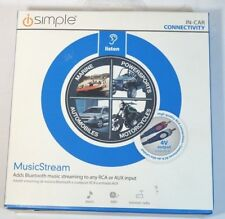 Isimple Isbt23 Musicstream  Adds Bluetooth Streaming to Any RCA  or Aux Input