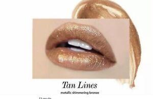 Jouer Cosmetics Long-Wear Lip TOPPER, metallic tan lines