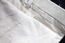 Sartoria Chiaia Tan Beige Hand Made Bespoke Khaki Chino Flat Front Trouser