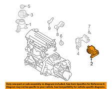 MAZDA OEM 06-07 6-Transmission Trans Mount GP9A39070