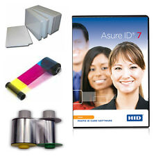 Fargo HDP5000 UV Supplies: UV Ribbon, Film, Cards, Asure ID software