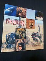 "PREDATORS of the WILD Lion Shark Whale Grizzly Bear Leopard Laserdisc BoxSet ""G"""