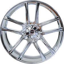 4 GWG Wheels 18 inch Chrome ZERO Rims fits LEXUS ES 300H 2013 - 2018