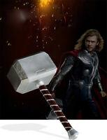 1:1 Cattoys Full The Avengers 4 Endgame Marvel Thor Hammer Model Mjolnir