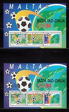 103601/ Malta 1994 - Bl. 14 - Fußball-WM 1994 - **/o - M€ 10,00