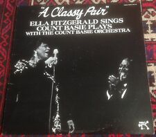 ELLA FITZGERALD*COUNT BASIE a classy pair 1982 US PABLO TODAY STEREO VINYL LP