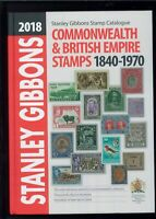Stanley Gibbons 2018 Stamp Catalogue British Commonwealth Brand New Hardcover