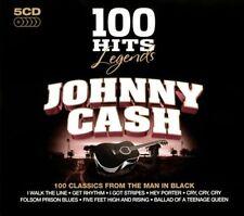 JOHNNY CASH - 100 HITS LEGENDS: JOHNNY CASH NEW CD