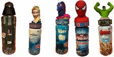 Set of 5 Disney Dory Elsa Darth Vader Hulk Spider-Man Super Miracle Bubbles Lot