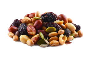 Keto snacks: Hi Energy Trail Mix 2 bags 1lb each (7 net carbs)