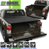 """Premium Soft Roll Up Tonneau Cover For 2007-2018 Toyota Tundra 5.5FT (66"""") Bed"""