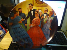 "1987 Knowles China Plate ""The Inauguration"" 2nd Issue w/ Coa - #11"