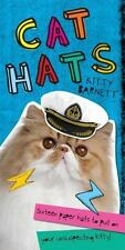 Cat Hats ~Sixteen Paper Hats to Put on Your Unsuspecting Kitty! Kitty Barnet NEW