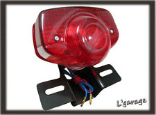LG159-HONDA SL100 SL125 XL100 XL125 XL175 XL250 XL350 TAIL LIGHT+BRACKET6V[LCB]