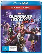 Guardians Of The Galaxy : Vol 2 : NEW 3D/2D Blu-Ray