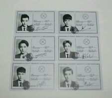 SET OF EXO M XOXO PHOTO CARD LAY TAO KRIS XIUMIN LUHAN CHEN