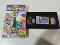 DIGIMON DIGITAL MONSTERS VOLUMEN 4 - 3 EPISODIOS - VHS TAPE CINTA CASTELLANO