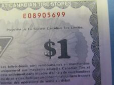 $1.00 Canadian Tire - ERROR  S13 F1
