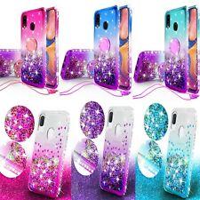 Samsung Galaxy A70/50/A30/A20/A10 Hybrid Glitter Diamond Bling Phone Case Cover