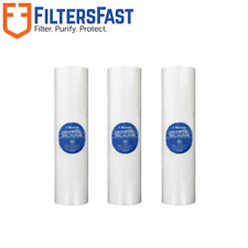 """Hydronix 10"""" Sediment Water Filter Cartridge 3-Pack 1 Micron SDC-25-1001"""
