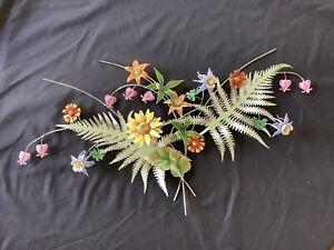 Bovano of Cheshire Enameled Copper Wildflower Fern Garden