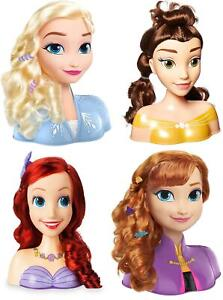 Disney Hair Styling Heads with Accessories