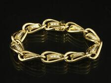 Otto Klein Wertvolles Brillant Armband ca. 0,90ct   38,9g 750/- Gelbgold