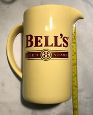 VINTAGE Bell's Aged 8 Years Scotch Whisky WADE PDM Water Jug, Bar, Pub Mancave