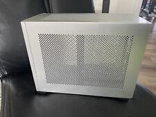NCASE M1 V6.1 Mini ITX PC Gaming Sliver Edition PC Case READ INFO